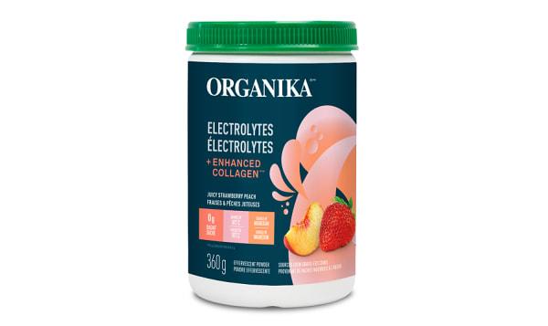 Electrolytes + Enhance Collagen Strawberry Peach