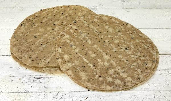 10  Burrito Size - 100% Whole Wheat Tortilla (Frozen)