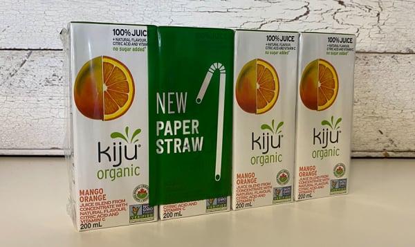 Organic Mango Orange Juice Boxes