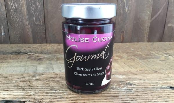 Black Gaeta Gourmet Olives