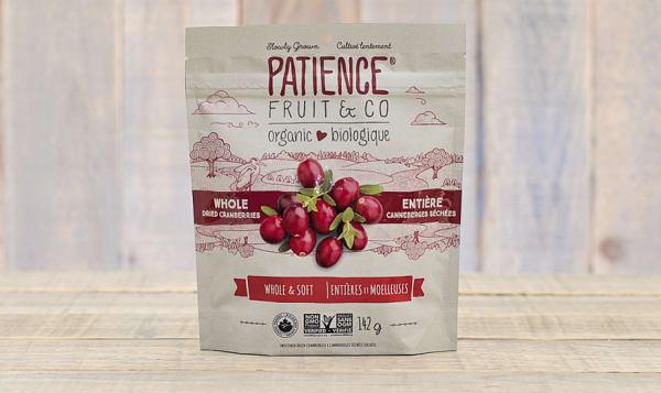 Organic Whole & Soft Cranberries